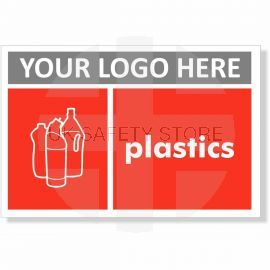 Plastics Recycling Sign