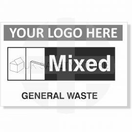 General Waste Recycling SIgn