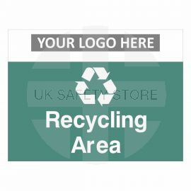 Recycling Area Waste Sign