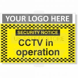 CCTV In Operation Security Notice Sign