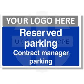 Reserved Parking Contract Manager Parking Sign