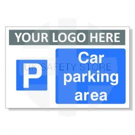Car Parking Area Custom Logo Sign
