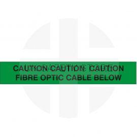 Caution Fibre Optic Cable Below