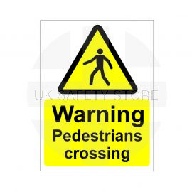 Pedestrians Crossing Sign