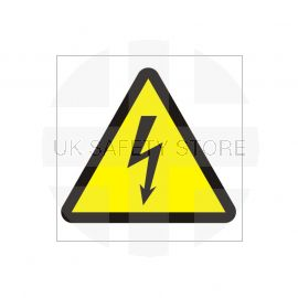 Electrical Risk Symbol Sign