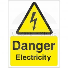 Danger Electricity Warning Sign