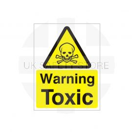 Warning Toxic Sign
