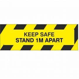 Keep Safe Stand 1M Apart Sign (Multipack)