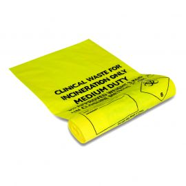 Biohazard Bags - 20cm x 30.5cm - Pack of 50