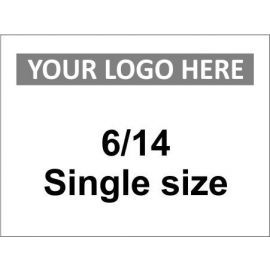 6/14 Single Size Sign