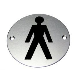 Male Symbol Premier Door Sign