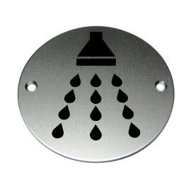 Shower Aluminium Sign