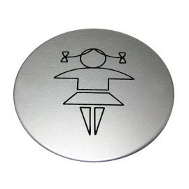 Girls Toilet Aluminium Sign