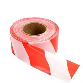 Eco Barricade Tape None Adhesive (Red and White)
