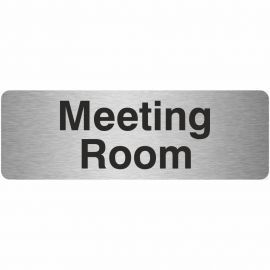 Meeting Room Prestige Premier Door Sign 300X100mm