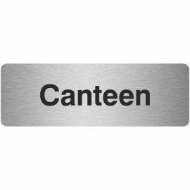 Canteen Prestige Premier Door Sign 300X100mm
