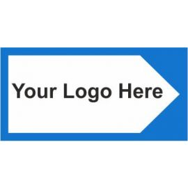 Directional Board Arrow Right Sign In A Variety Of Sizes and Materials With Your Logo