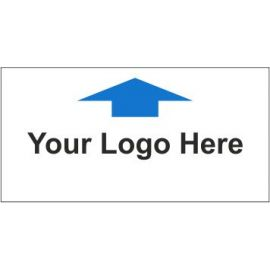Directional Board Arrow Up Sign In A Variety Of Sizes and Materials With Your Logo