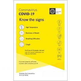 Know The Signs Covid 19 Sign