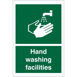 Hand Washing Facilities Sign