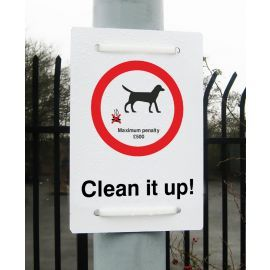 Dog Fouling Penalty £500 sign