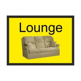 Lounge Dementia Sign