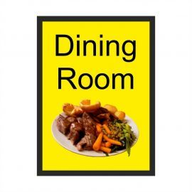 Dining Room Dementia Sign