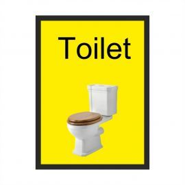 Toilet Dementia Sign -