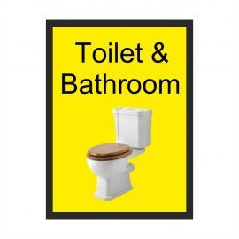 Toilet & Bathroom Dementia Sign