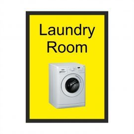 Laundry Room Dementia Sign