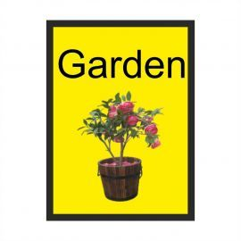 Garden Dementia Sign