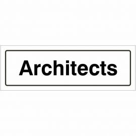 Architects Door Sign