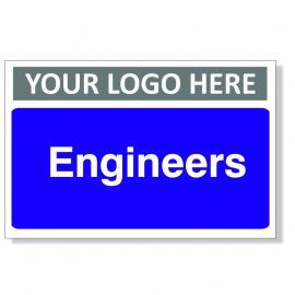 Engineers Custom Logo Door Sign