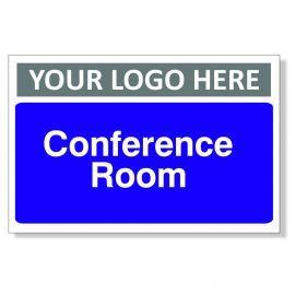 Conference Room Custom Logo Door Sign