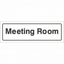 Meeting Room Door Sign