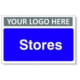 Stores Custom Logo Door Sign