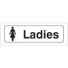 Ladies Toilet Door Sign