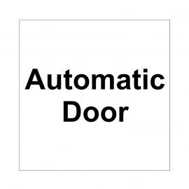 Automatic Door Sign