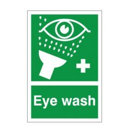 Eye Wash First Aid Sign