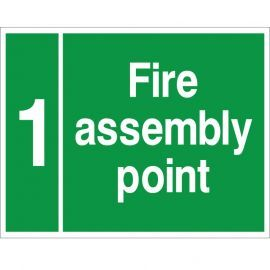 Custom Fire Assembly Point Sign