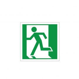 Man Running Left Sign
