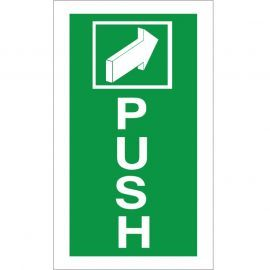 Push Arrow Forward Sign