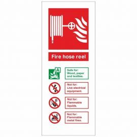 Fire Hose Reel Fire I.D Sign 80x200