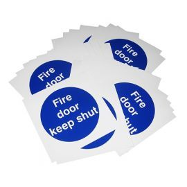 Fire Door Keep Shut - Pack Of 30