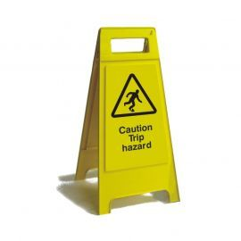 Caution Trip Hazard Freestanding Sign 600mm