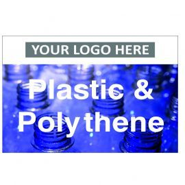 Plastic & Polythene Custom Logo Recycling Sign