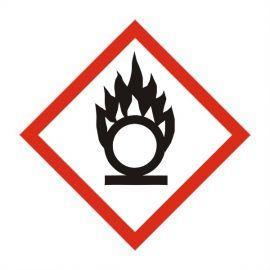 Oxidizing Label Sticker 100X100mm