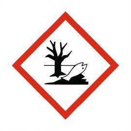Hazardous To The Environment Label Sticker 100X100mm