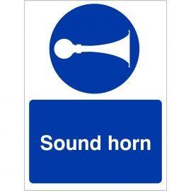 Sound Horn Sign