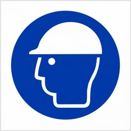 Hard Hat Symbol Sign